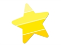 Picture of Painted Palette Stars Jumbo Designer Cut-Outs