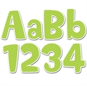 Picture of Lime Green Chevron Designer Letters
