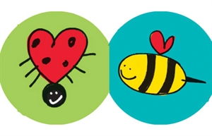 Picture of Love Bugs Die-Cut Border