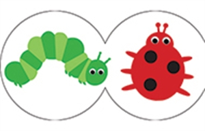 Picture of Bugs Die-Cut Border