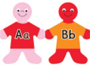 Picture of Alphabet Kids Die-Cut Border