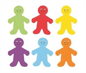 Picture of Rainbow Kids Cut-out