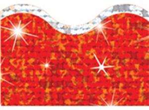 Picture of Super Sparkle Red Sparkle Plus Border