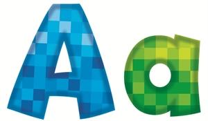 Picture of Pixels Letters