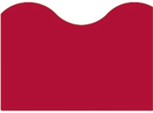 Picture of Maroon Solid Border