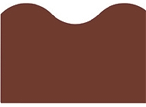 Picture of Chocolate Solid Border