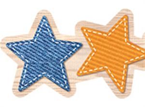 Picture of Rustic Stars Border