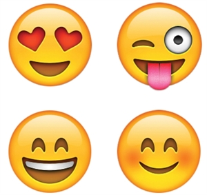 Picture of Emojis Hot Spots Stickers