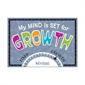 Picture of My Mind is set for Growth Motivational Chart