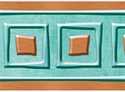 Picture of I Love Metal Copper Squares Bolder Border