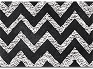 Picture of Chalk it Up Chevron in Chalk Border