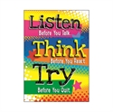 Picture of Listen Before you Talk Motivational Chart