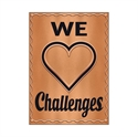Picture of We Love Challenges Motivational Chart
